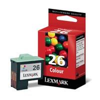 Lexmark Tinte Nr. 26 f�r Z13/Z23/Z24/Z33/i3/ 1160 farbig - 10N0026E
