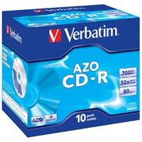 Verbatim CD-R 80 700 MB 52x JC (10) - 43327