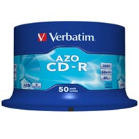 Verbatim CD-R 80 700 MB 52x CB (50) - 43343
