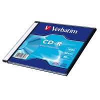 Verbatim CD-R 80 700 MB 52x SC (1) - 43347