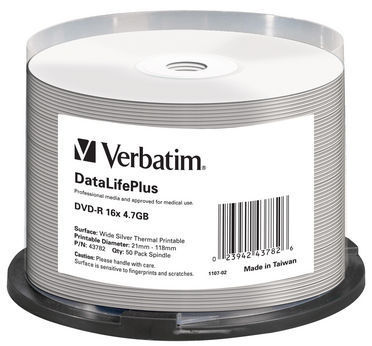 Verbatim DVD-R 4.7 GB 16x CB (50) TSP