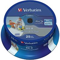 Verbatim Blu-Ray 25 GB 6x HTL Recordable CB (25) IWP