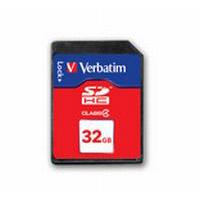 Verbatim SD Card 32GB SDHC Class 4 T-Blister - 44022