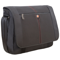 "Verbatim 16"" Notebook Messenger Bag ""Berlin"" Black"