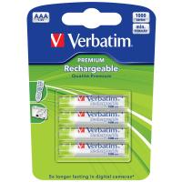 Verbatim Akku - Micro AAA (4) - 1000mAh - 49942
