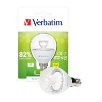 "Verbatim LED ""Mini Globe"" E14 - 5,5W Klar (entspricht 30W) - 52605"