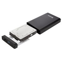 "Verbatim 3.5"" Festplattengehäuse USB 3.0 Metal"