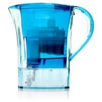 """Cleansui 1,2 Liter Tischwasserfilter """"Guzzini GP001"""" Blau - 54010"""
