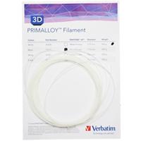 Verbatim PRIMALLOY-Filament 1,75 mm - Wei� (10m Muster-Pack) - 55500S