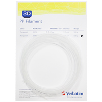 Verbatim PP-Filament 2,85 mm - Natural (10m Muster-Pack) - 55951S