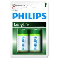 Philips Batterie LongLife - Baby C (2) - R14-P2/01b
