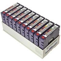 LTO 7 BaFe MLM Spectra Logic TeraPack (10) non-Cust-Label, w/o Dust Cover