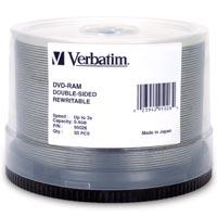 Verbatim DVD-RAM 9.4 GB 3x CB (50) - 95026