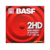 "MF2HD - BASF ""MEGA"" 1,44 MB IBM formatiert (10)"