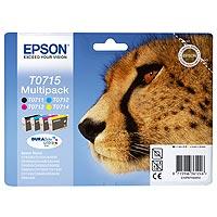 Epson Tinten Multipack C/M/Y/Bk Stylus D78/DX4050/5050/6050/8450 - C13T071540
