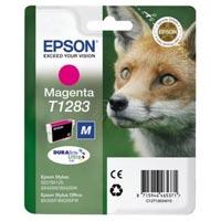 Epson Tinte Stylus S22, SX125,BX305F,BX305FW,SX420W,SX425WEpson Tinte Stylus SX130, SX440W, SX445W magenta - Fuchs - C13T12834012