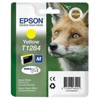 Epson Tinte Stylus S22, SX125,BX305F,BX305FW,SX420W,SX425WEpson Tinte Stylus SX130, SX440W, SX445W yellow - Fuchs - C13T12844012