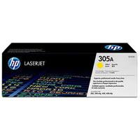 HP 305A LaserJet Original Toner gelb Standardkapazität 2.600 Seiten