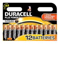 Duracell Plus Power Mignon Alkaline, AA 1.5 V (12er Pack)