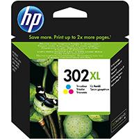 HP 302XL Tinte Tri-color