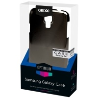 Grixx Optimum Case Samsung Galaxy S4 Metal-look - GROSGS4MC01