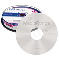 MediaRange CD-R 80 700 MB 52x CB (10)