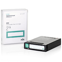 HPE RDX 2 TB Removable Disc Cartridge