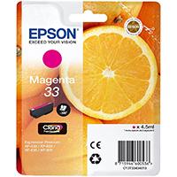 Epson Tinte 33 Claria Premium XP350/630/635/830 magenta - Orange