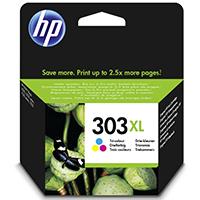 HP 303XL Tri-color Original Ink Crtg